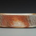 Carved Oval Vase