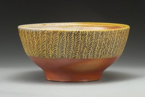 Carved Medium Bowl